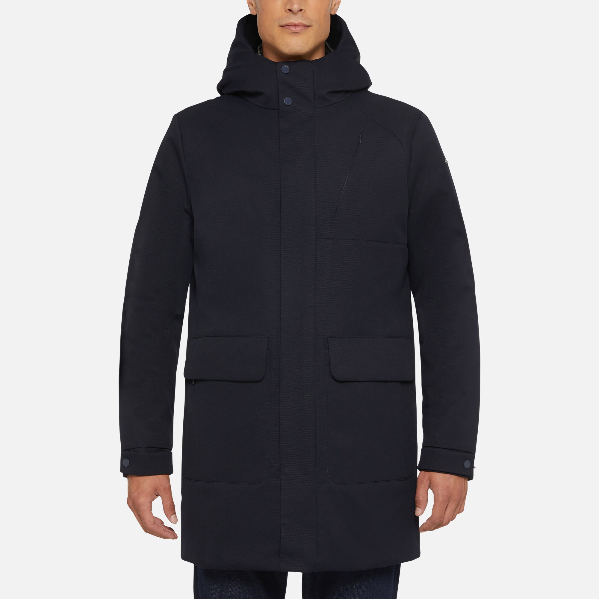 Geox AERANTIS Mann: blaue Jacke | Geox FW1920