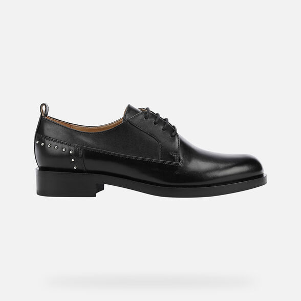 WOMAN LACE UPS AND BROGUES GEOX BROGUE WOMAN - 2