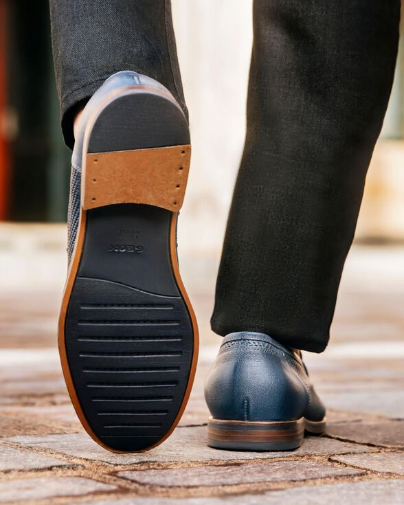 LOAFERS MAN GEOX BAYLE MAN - NAVY