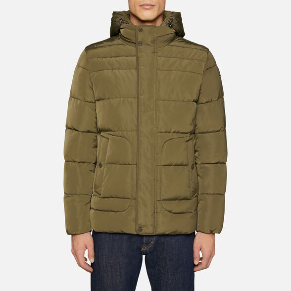 DOWN JACKETS MAN GEOX HILSTONE MAN - 2