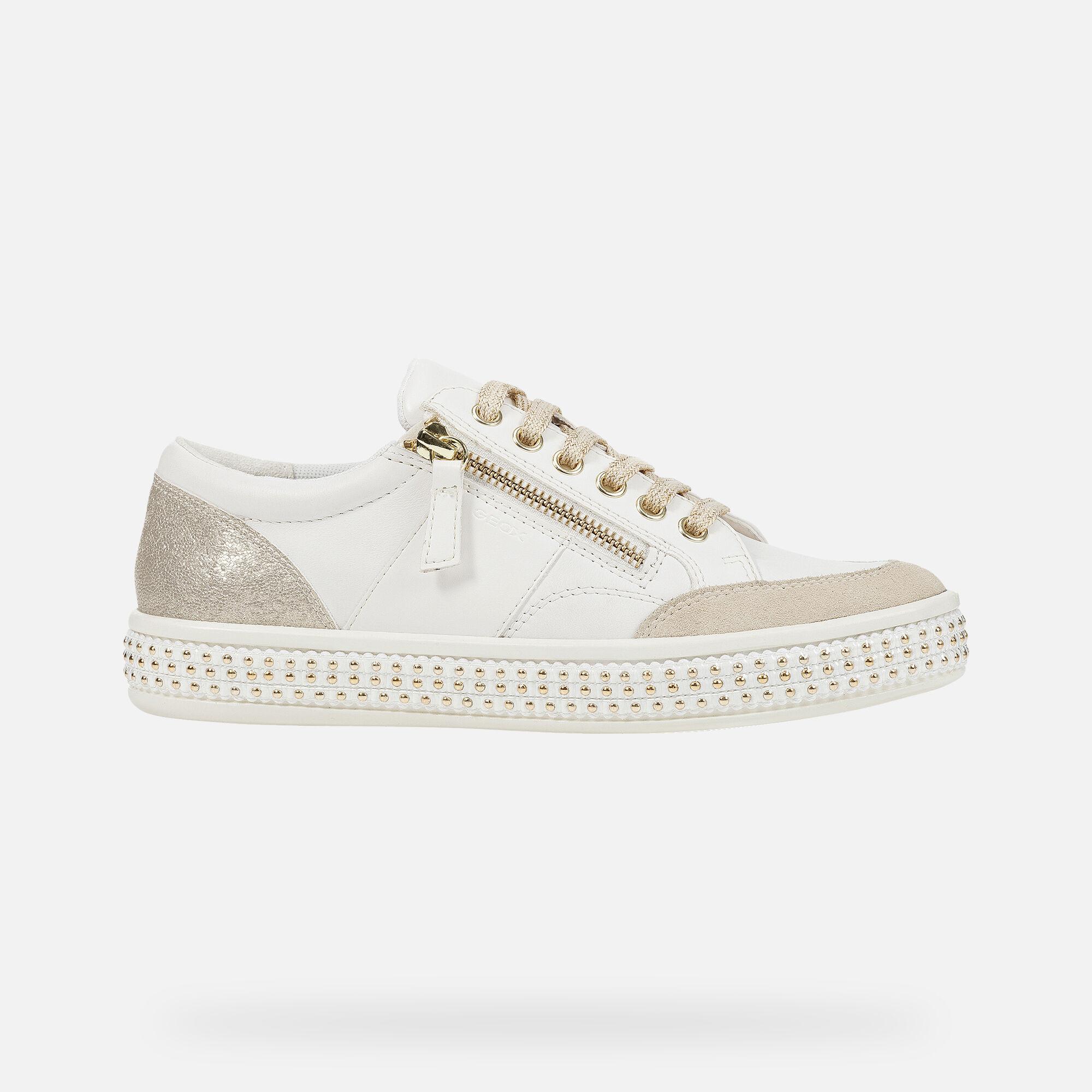 Geox LEELU' Donna: Sneakers Basse Bianche | Geox ® FW 1920