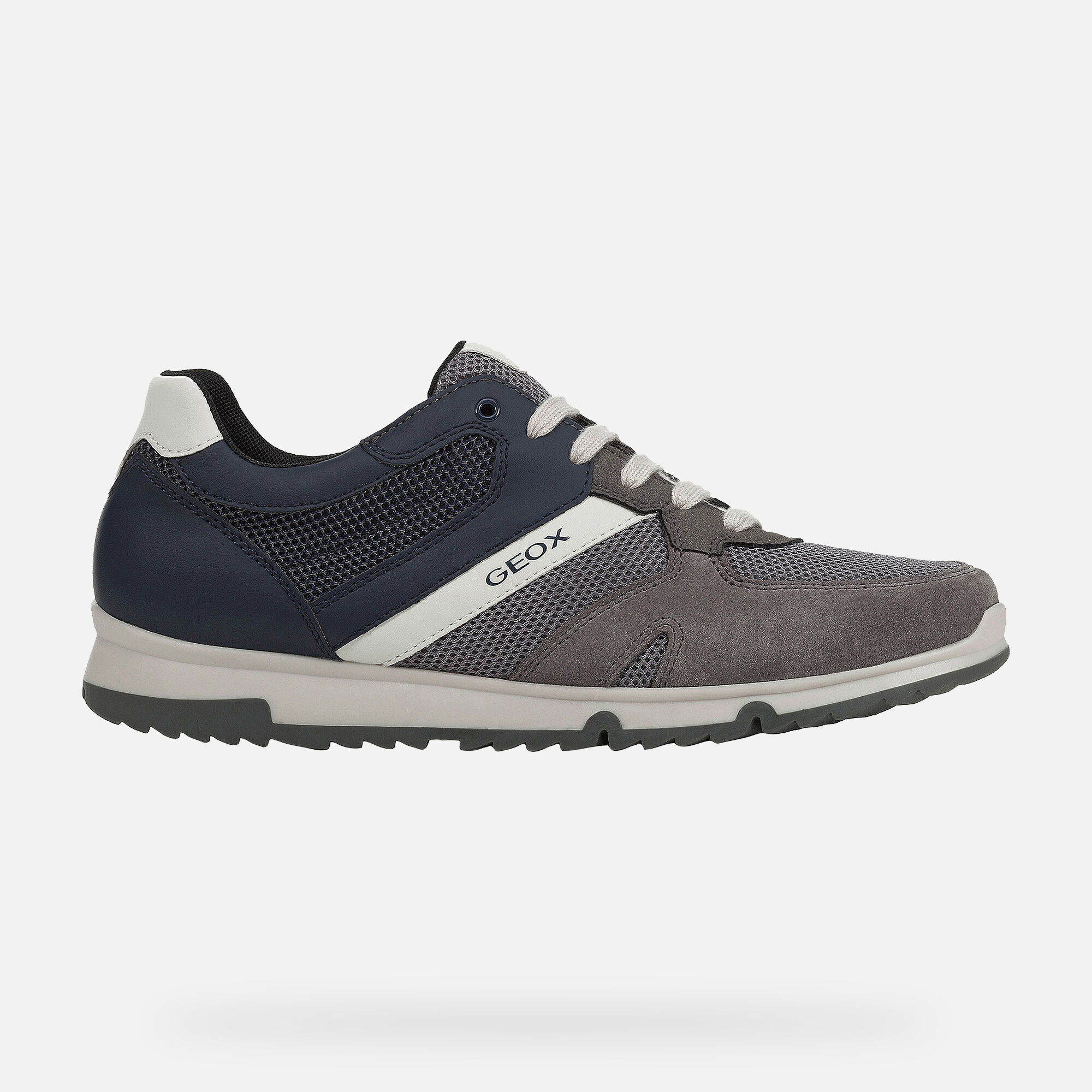 Geox WILMER Man: Anthracite Sneakers