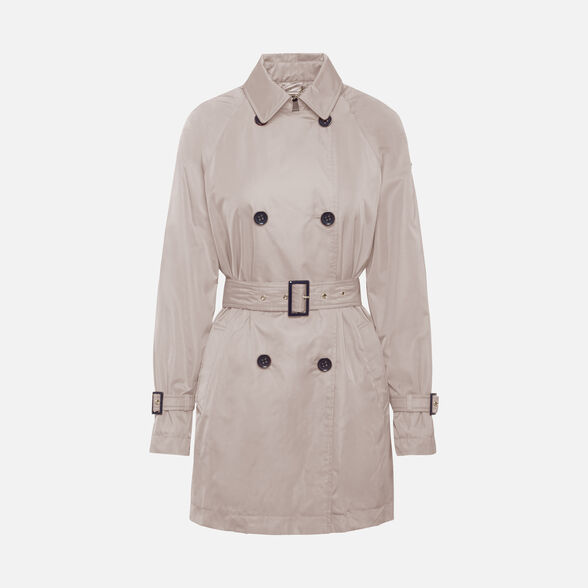 WOMAN OVERCOAT GEOX AIRELL WOMAN - 1