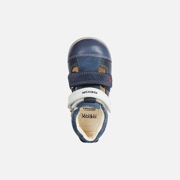 Categoria nascosta per master products Site Catalog GEOX KAYTAN BABY BOY - DARK BLUE AND WHITE