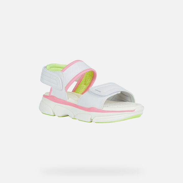 GIRL SANDALS GEOX LUNARE GIRL - 3