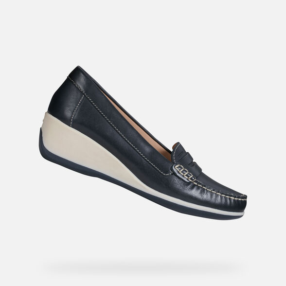 WOMAN LOAFERS GEOX ARETHEA WOMAN - 1