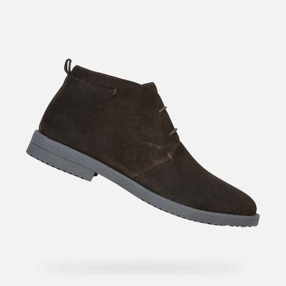 CASUAL SHOES MAN GEOX BRANDLED MAN - 1