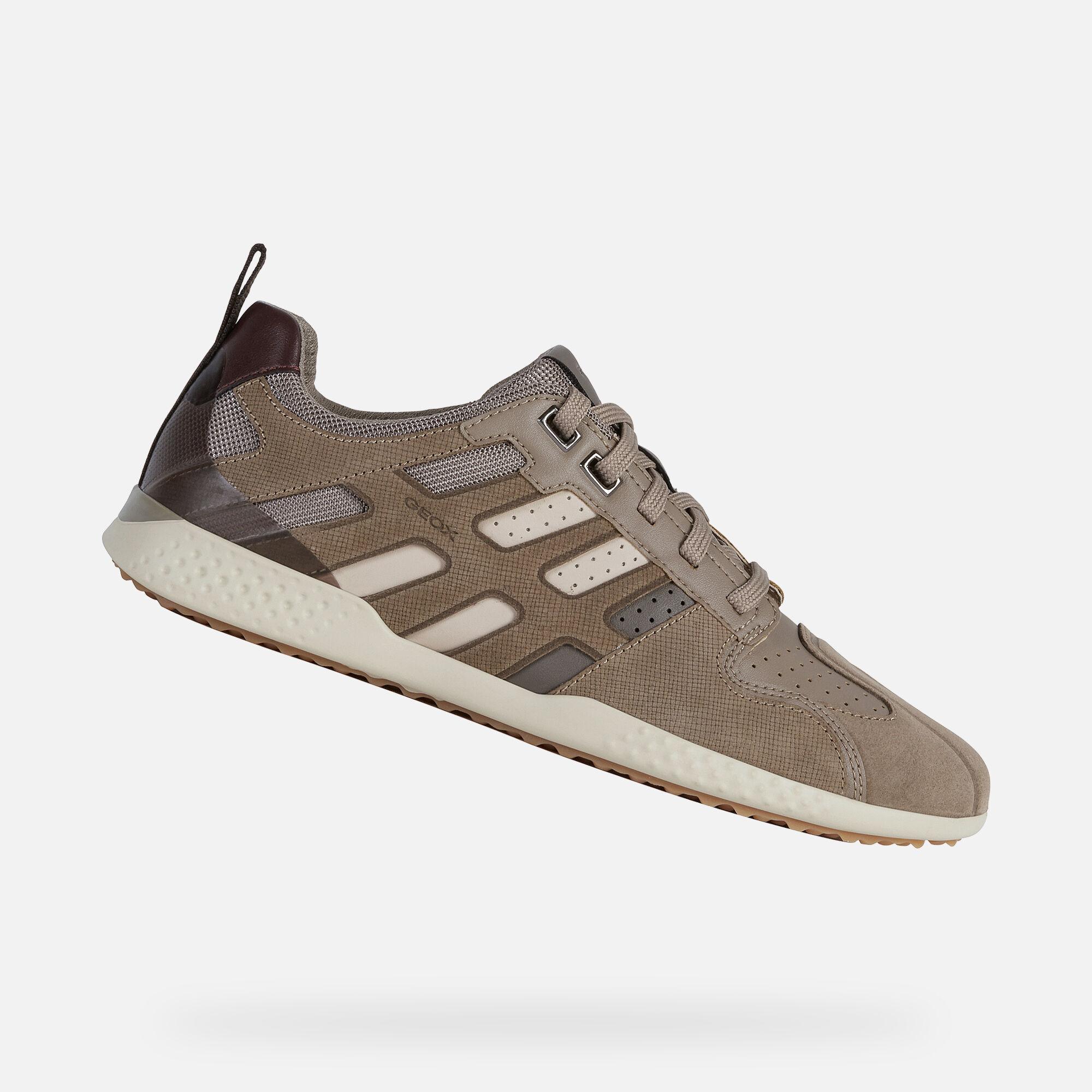 Geox SNAKE.2 Man: Sand Sneakers   FW20
