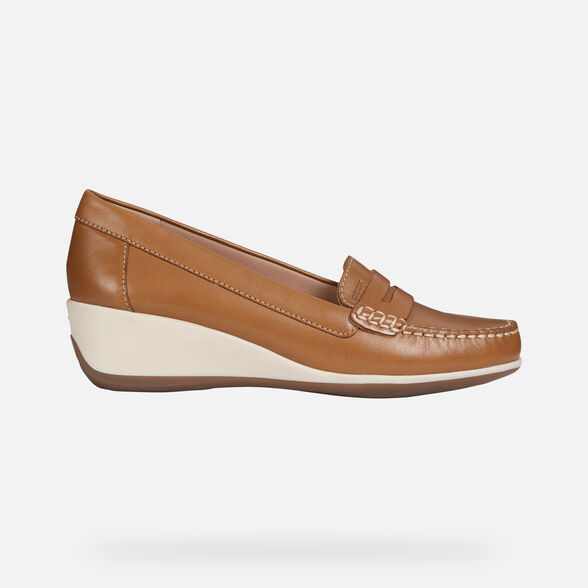 WOMAN LOAFERS GEOX ARETHEA WOMAN - 2
