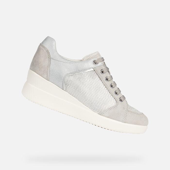 Plateausohle – Für Damen Sneaker AtmungsaktivGeox Mit 8kPnO0w