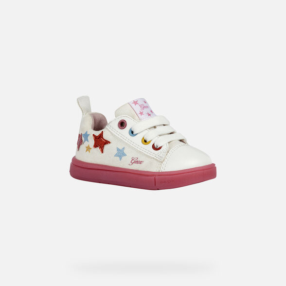 BABY SNEAKERS GEOX TROTTOLA BABY GIRL - 3