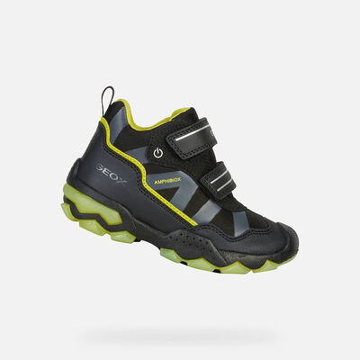 LIGHT-UP SHOES BOY GEOX BULLER ABX BOY