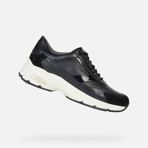 SNEAKERS FEMME GEOX ALHOUR FEMME - null