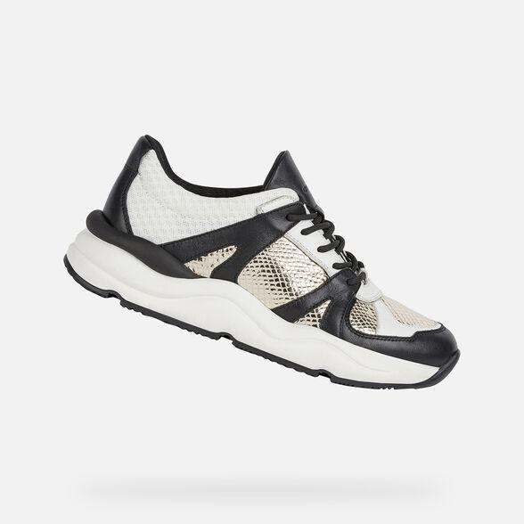 Subvención reptiles Teoría de la relatividad  Geox TOPAZIO Mujer: Sneakers Oro | Geox® Preview