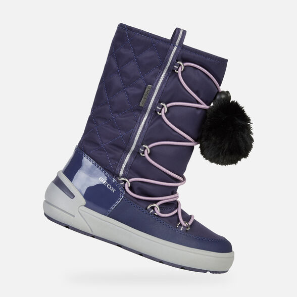ANKLE BOOTS GIRL GEOX SLEIGH ABX GIRL - 1