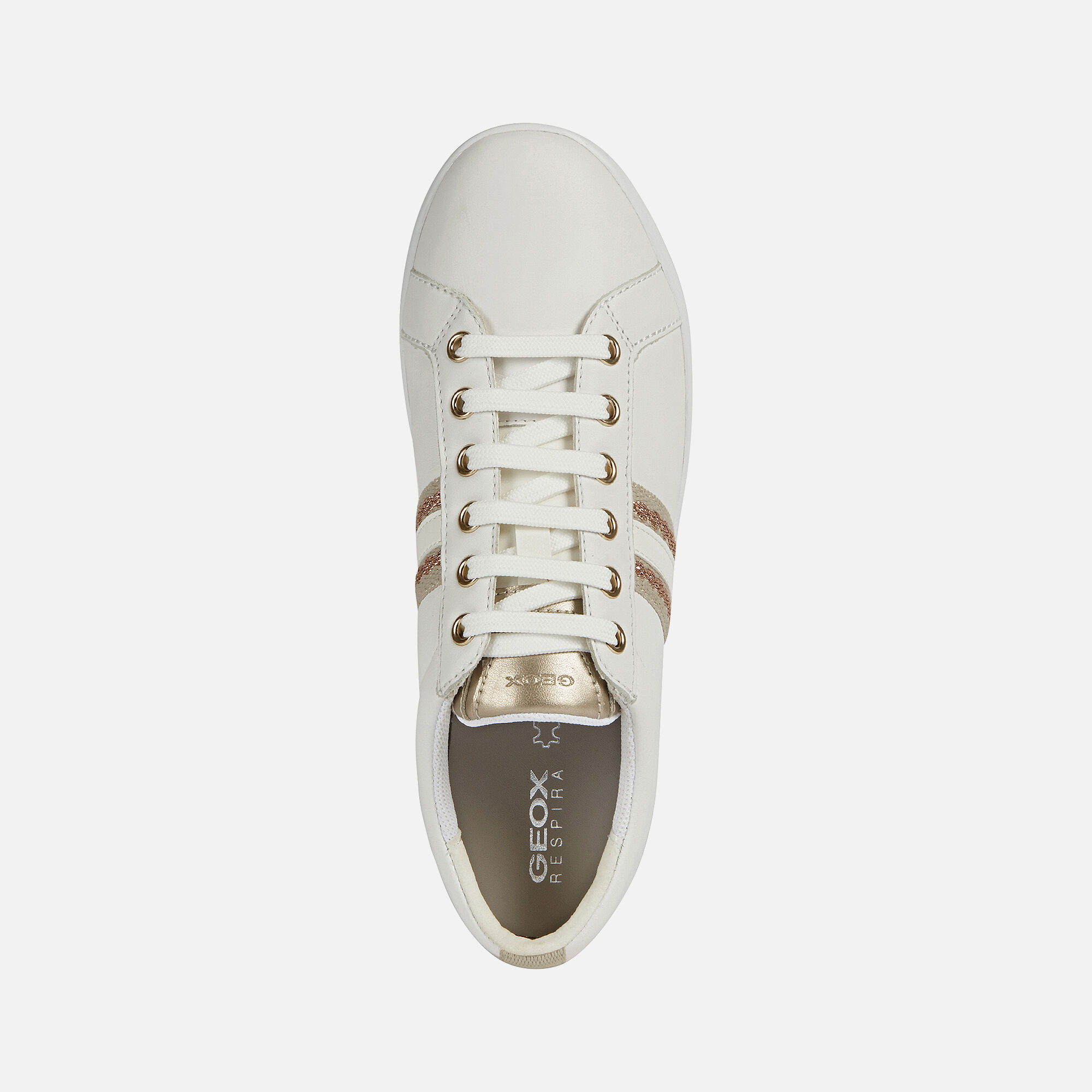 Geox Women's Jaysen Leather Lace Up