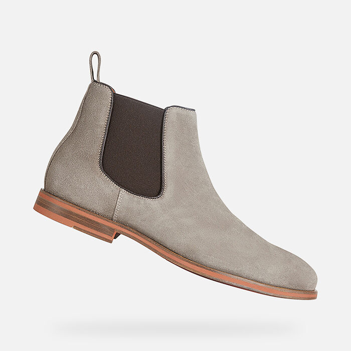 geox cheap suede boots, Geox men's uomo high life lace ups