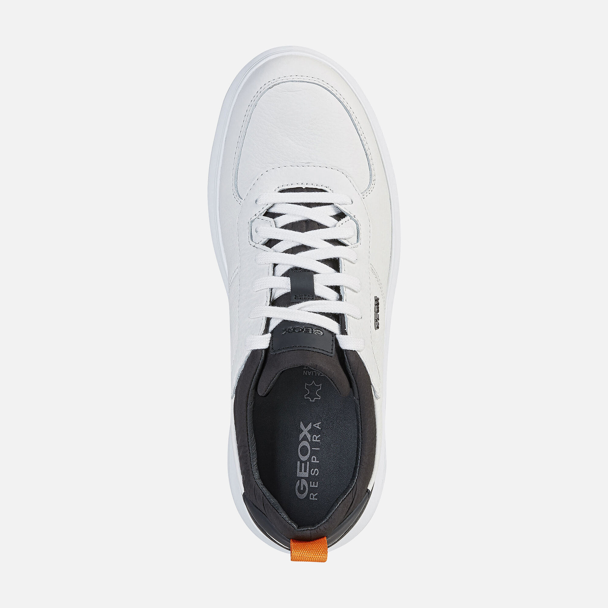 Geox MAESTRALE Man: White Sneakers