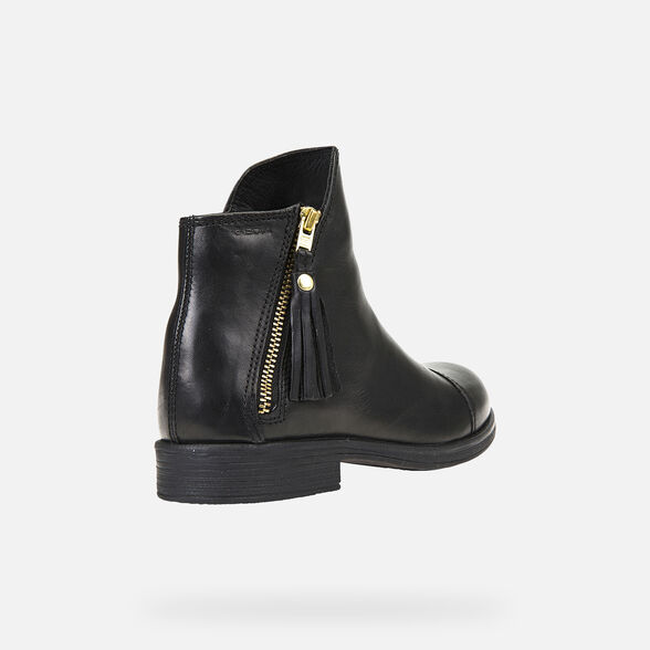 GIRL ANKLE BOOTS GEOX AGATA GIRL - 5