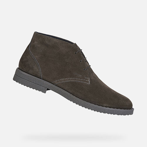 CASUAL SHOES MAN GEOX BRANDLED MAN - null