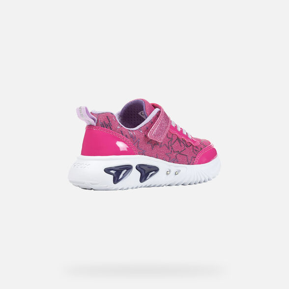 GIRL LIGHT-UP SHOES GEOX ASSISTER GIRL - 5