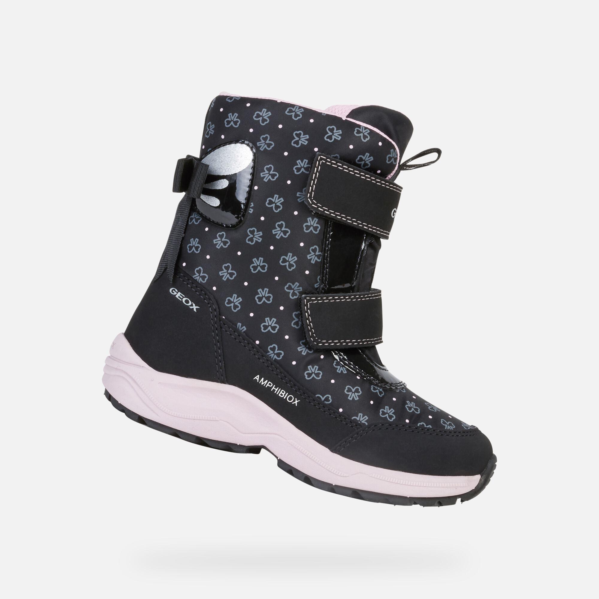 Geox Kuray 2 Waterproof Sneaker (Toddler, Little Kid & Big