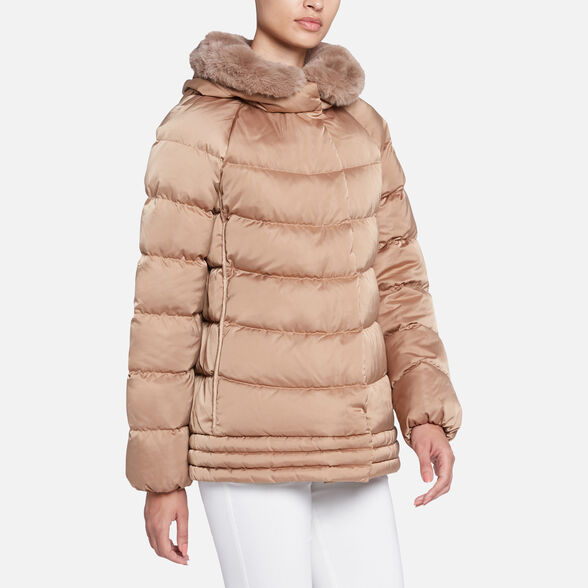 WOMAN DOWN JACKETS GEOX CHLOO WOMAN - 4