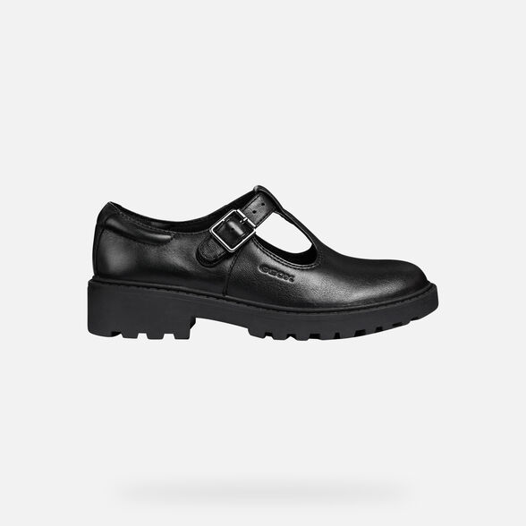 FILLE CHAUSSURES POUR UNIFORME GEOX CASEY FILLE - 2