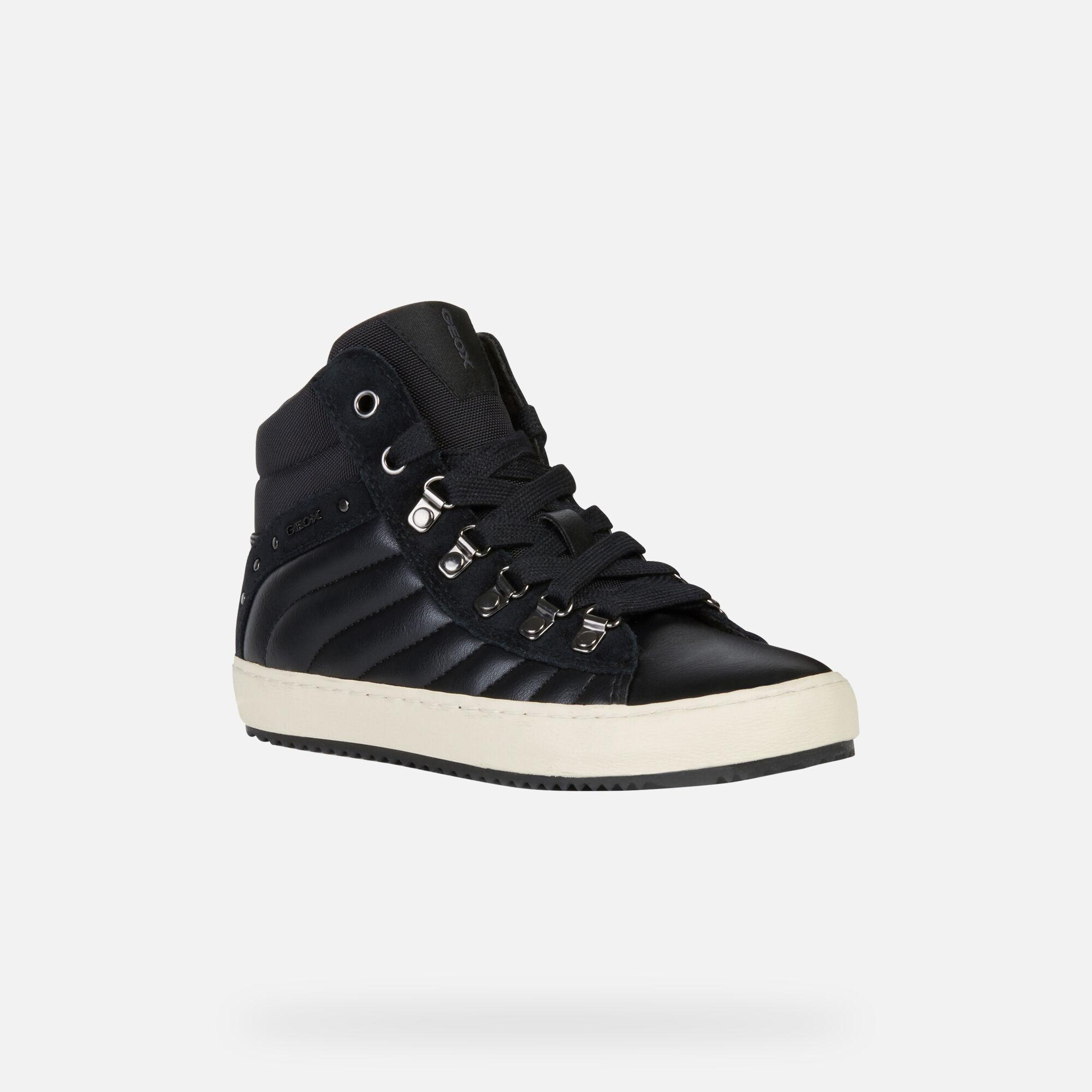KALISPERA BIMBA Black | Sneakers Geox Bambina | FIOG