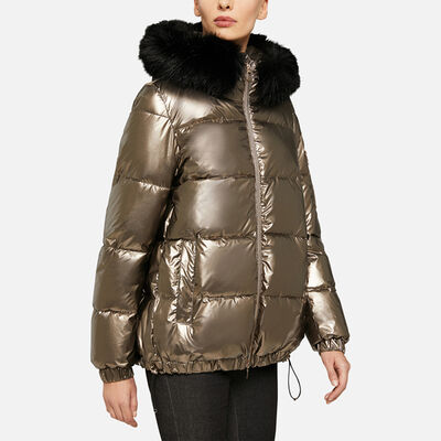 DOWN JACKETS WOMAN GEOX BACKSIE WOMAN