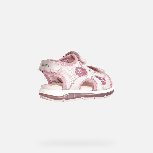 SANDALS BABY GEOX TODO BABY GIRL - PINK