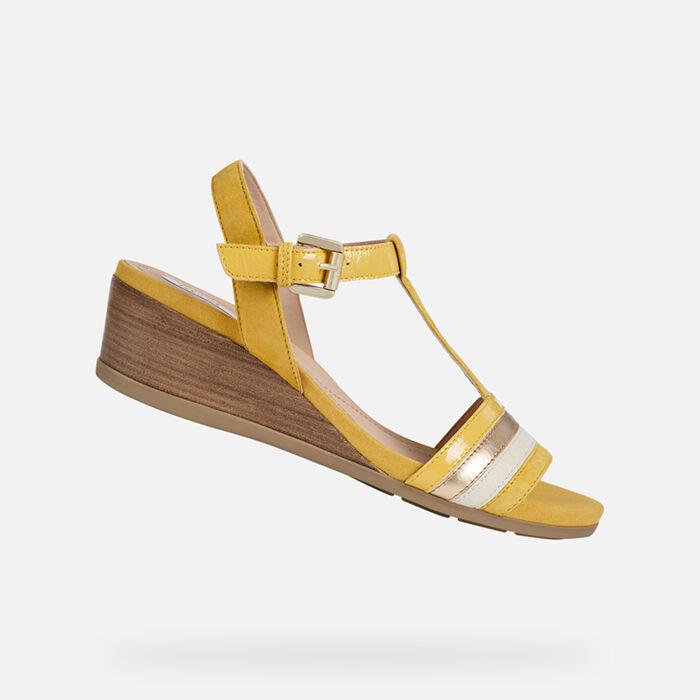 FemmeNouvelle Compensées Compensées Chaussures FemmeNouvelle Geox Chaussures Collection 0XPkN8nwO