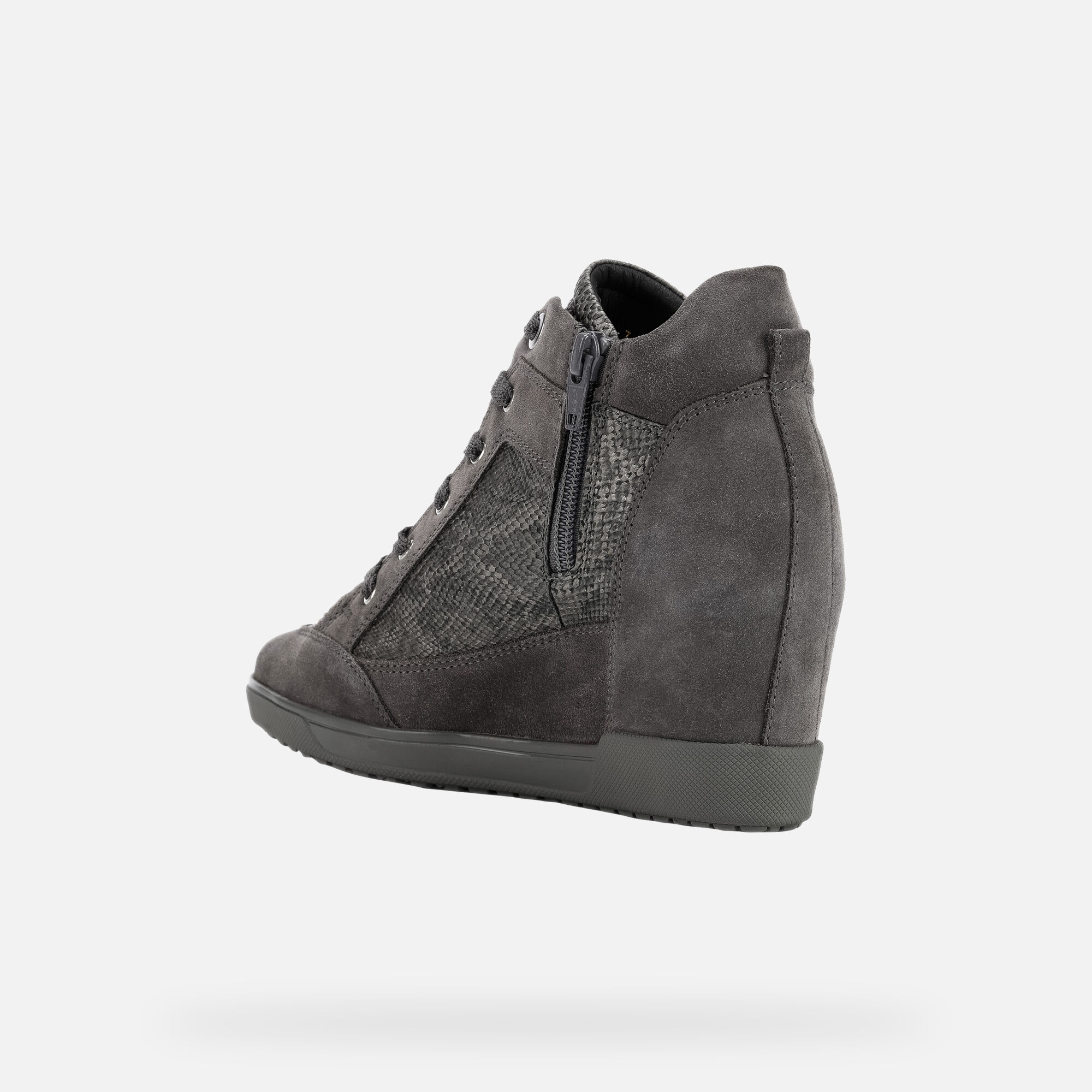 Geox CARUM Femme Sneakers Gris | Geox Automne Hiver