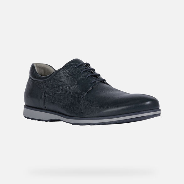 CASUAL SHOES MAN GEOX BLAINEY MAN - NAVY