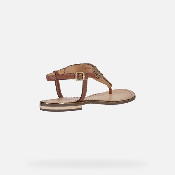 WOMAN SANDALS GEOX SOZY PLUS WOMAN - 5