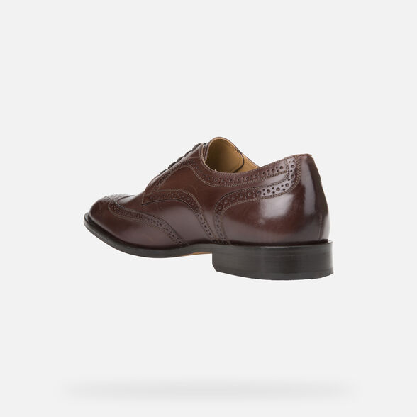 LEATHER MAN GEOX SAYMORE - 4