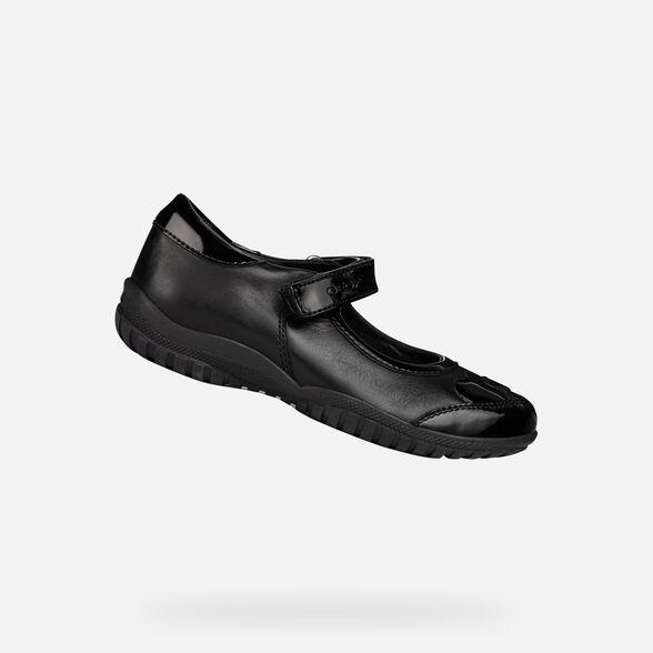 Girl School Shoe Black Uniform Child Kids Children Infant Junior Leather Formal