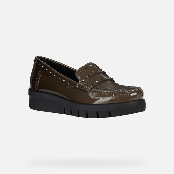 LOAFERS WOMAN GEOX WIMBLEY WOMAN - 3
