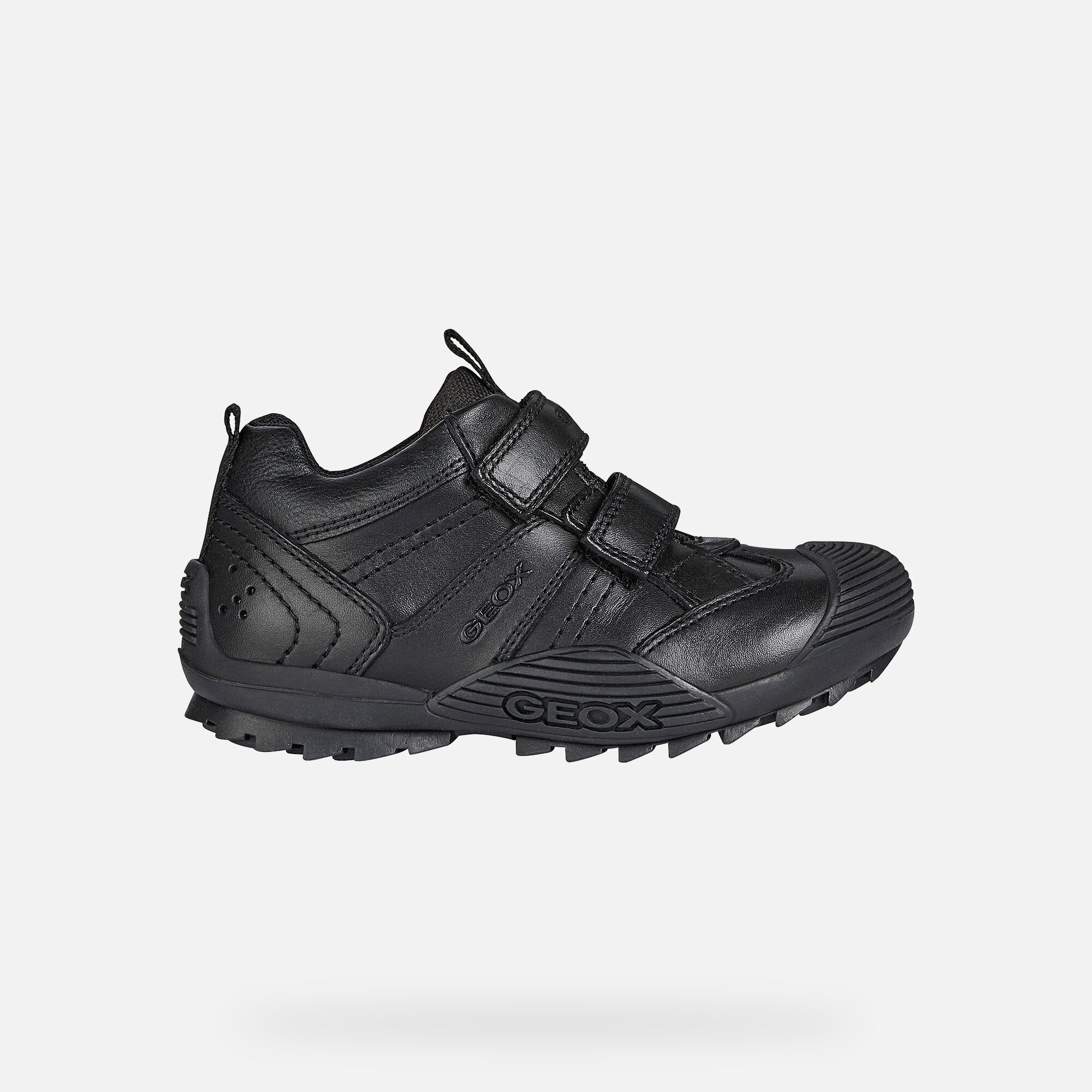 Geox SAVAGE Junior Boy: Black Shoes