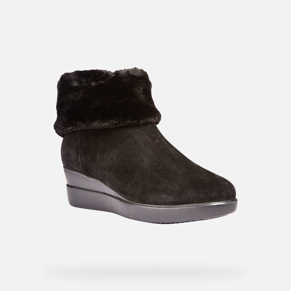 ANKLE BOOTS WOMAN GEOX STARDUST WOMAN - 4