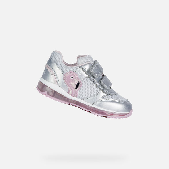 BABY LIGHT-UP SHOES GEOX TODO BABY GIRL - 1