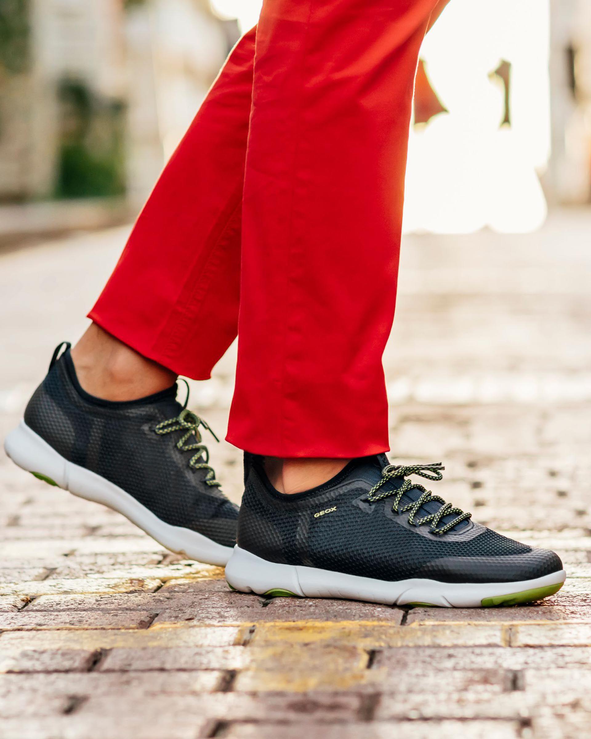 Geox NEBULA X Man: Navy blue Sneakers