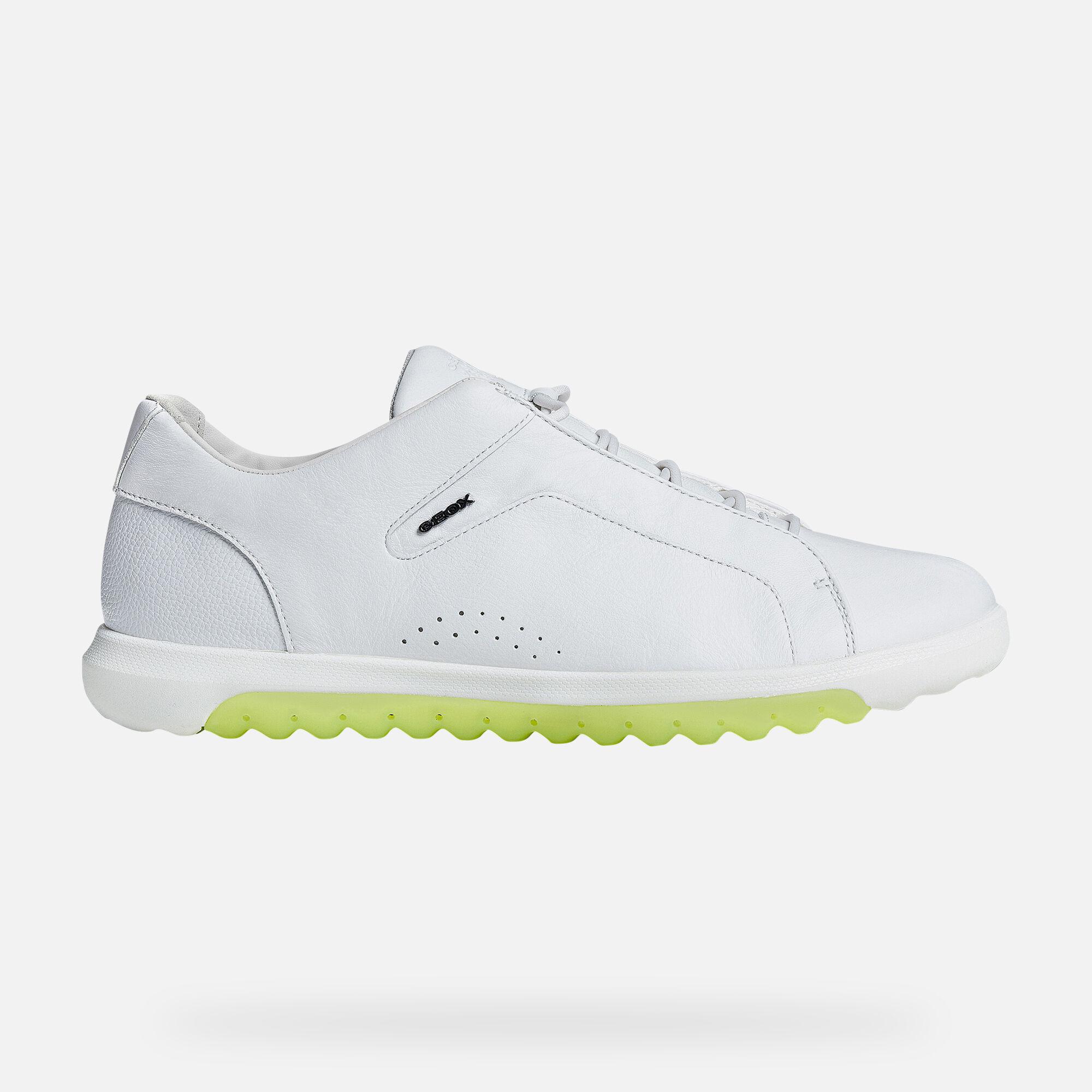 Geox NEXSIDE Man: White Sneakers   Geox