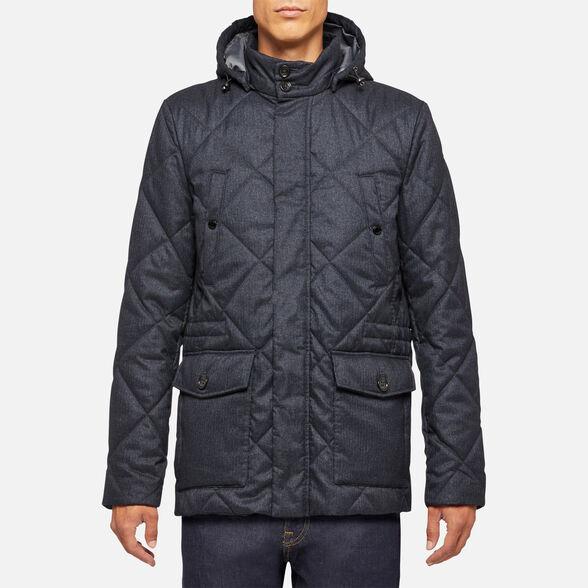 DOWN JACKETS MAN GEOX RENAN MAN - 2