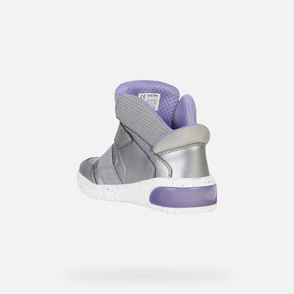LIGHT-UP SHOES GIRL GEOX XLED GIRL - 5