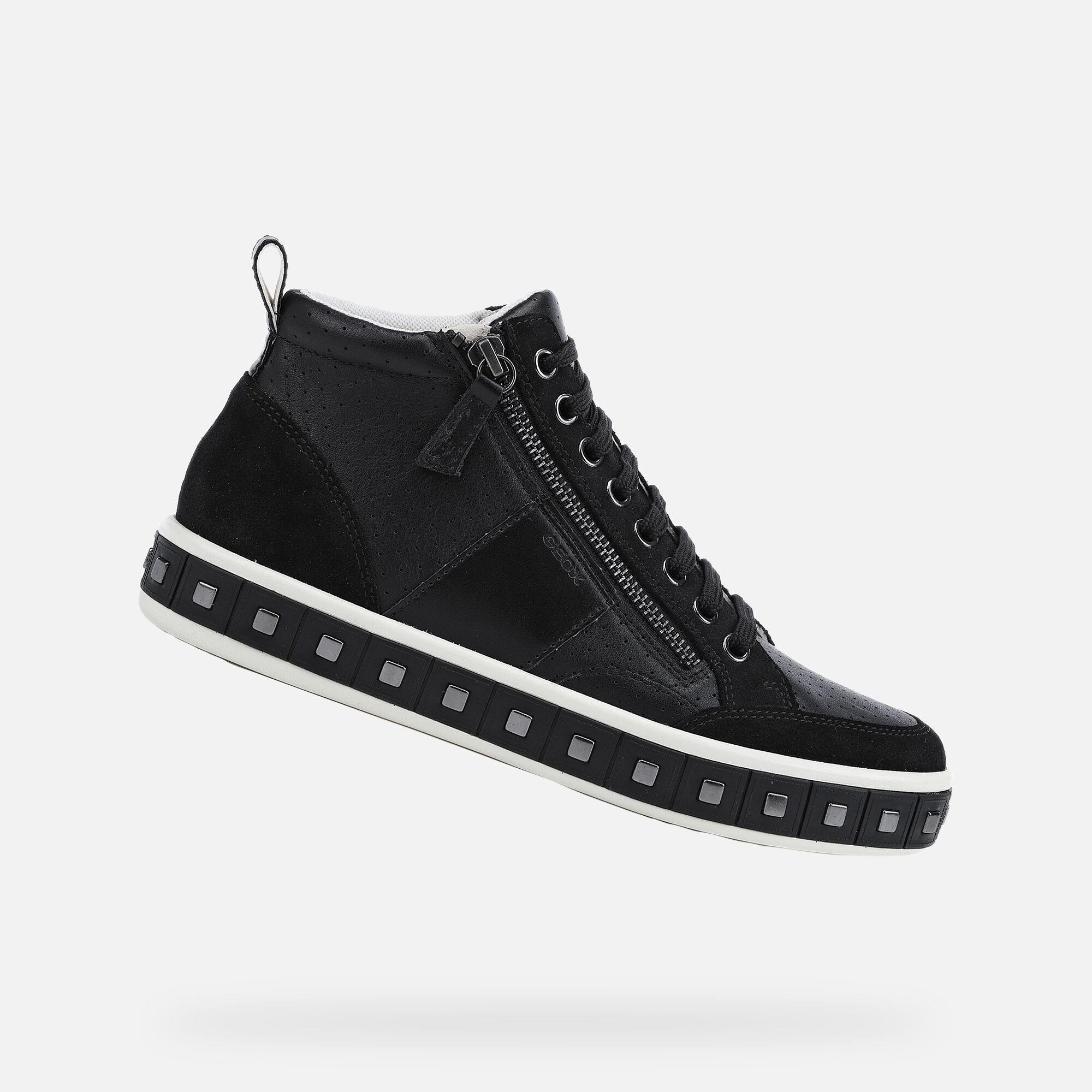 Geox LEELU' Woman: Black Sneakers