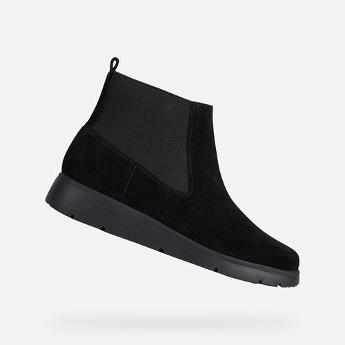 ANKLE BOOTS WOMAN GEOX ARLARA WOMAN - null