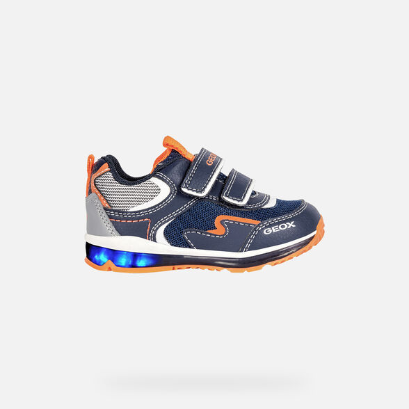 BABY LIGHT-UP SHOES GEOX TODO BABY BOY  - 8