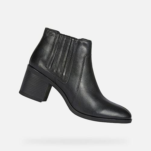 ANKLE BOOTS WOMAN GEOX NEW ASHEEL WOMAN - null