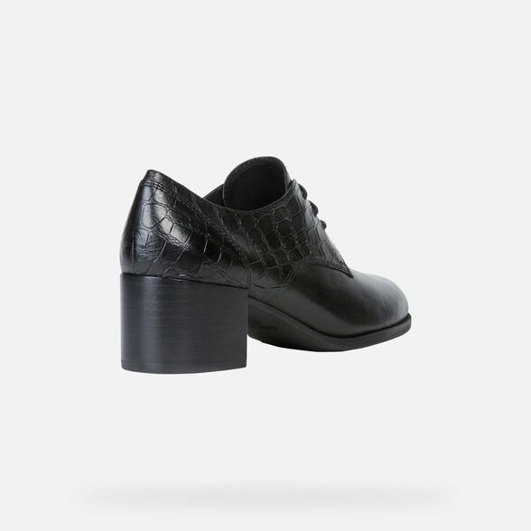 LACE UPS AND BROGUES WOMAN GEOX JACY WOMAN - 5